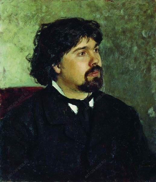 сочинение по картины репина портрет а рубинштейна